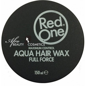 Red One Haarwax - Black Aqua Hair Gel Wax 150ml